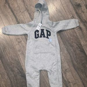 Baby GAP hooded one piece